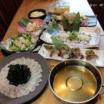 武蔵 - 真鯛と三陸ワカメのしゃぶしゃぶ2500