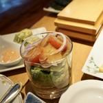 オーベルジュ 北の暖暖 ダイニングルーム 綾 - 和定食