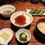 オーベルジュ 北の暖暖 ダイニングルーム 綾 - いくら丼