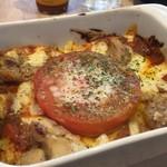 ラッツダイニング - 焼トマトと自家製チキンのドリア