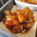 華湘 - 「鶏の油琳揚げ 特製ソース」