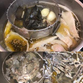 ら麺亭のこだわりその①【スープの出汁】