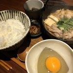 湯島 彩家 - 選べるすき焼きと鯛茶漬け御膳 1の膳 豚肉