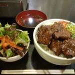 Fukushigehorumon - 牛タンタレ丼