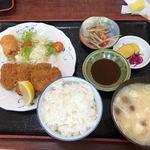 多楽福亭 - 料理写真:サービスランチ/ヒレカツ850円