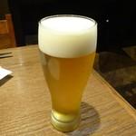 81189052 - 「生ビール(一番搾りプレミアム)」550円