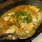 81189061 - 「蟹と豆腐の酸辣煮込み」1200円