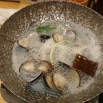 のどぐろ日本海 - しじみ酒蒸し(超大粒)