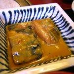 とさ市場 - サバの味噌煮(須崎定食)