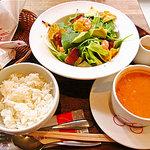 8119305 - コブサラダセット+スープ