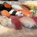 丸清寿司 - ランチ握り1.5人前