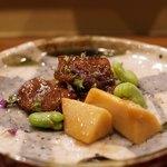味感 ことほぎ - 真鴨と蚕豆と筍