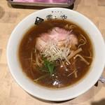 ラーメン 霽レ空 - 牡蠣煮干し麺 780円