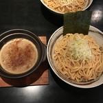 つけ麺 京都わたなべ - つけ麺 太麺(並)200g 濃厚魚介MIX 850円