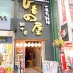 川崎銀柳街のひもの屋 - 外観