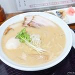鳥見本 - 2017年12月 特濃醤油チャーシューラーメン+味玉【1050+100円】