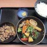 吉野家 - ベジ牛定食