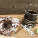 ミスターカンソショップ - 料理写真:ホットコーヒー¥449税込…阪急ベーカリーのパンと