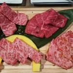 USHIHACHI - 特上和牛  究極盛り  2,990円