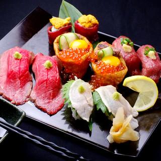 【赤字覚悟】『肉』寿司食べ放題2980⇒1980円