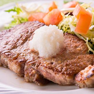 ◆洋食屋さんの和風ステーキ◆