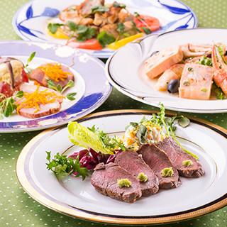 ◇お客様のオーダーに合わせコース料理をご用意いたします◇