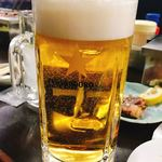 山力 - 生ビール 600円