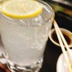 山力 - レモンサワー