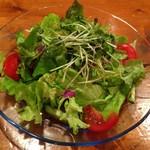 ラ・ヴォーノ - 野菜サラダ小 ¥350
