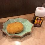 石臼挽き蕎麦とよじ - コロッケ