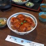 平林とんかつ店 - 海老丼