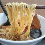 福島松川パーキングエリア(下り) - 麺