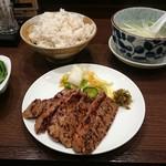 81208279 - 牛タン定食味噌