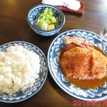 欧風料理 なかむら - ポークカツレツ \1050