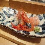 羽幌 鮨処 なか川 - 羽幌名物甘蝦