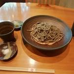 蕎麦 游山 - 粗挽きそば(\800)