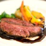 81212180 - ランチコース 4100円 の牛ハラミ肉のグリエ バルサミコソース