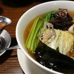 龍馬軒 - 塩煮干し中華&蝦醤