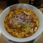 馬麺 - 黒酢辛醤麺