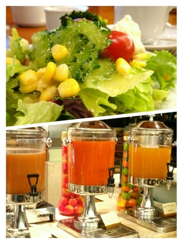 ラ・ティーダ - サラダとジュース