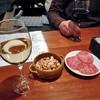 サクラサイダー - 料理写真:グラスワイン(白)& お通し(3人前)