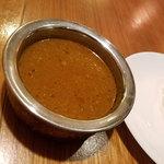 インド食堂 チチル&シシリ - キーマカレー辛さは3辛