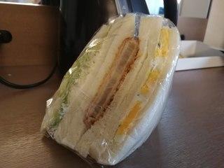 手造りサンドイッチ せと - ハムカツサンド