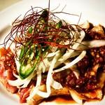 スパイステーブル - 地鶏のタタキ