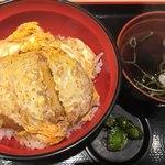 名代 富士そば - かつ丼(490円)