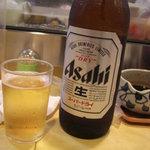 春駒 支店 - 大ビンビールは、あさひでした。