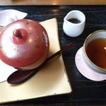 桜珈琲 - 和あんみつです♪