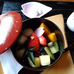 桜珈琲 - 料理写真:和あんみつです♪