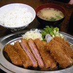 トキワ - ハムカツイカフライセット