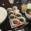 ふく井ホテル - 料理写真:中華朝がゆにサラダとドリンク
